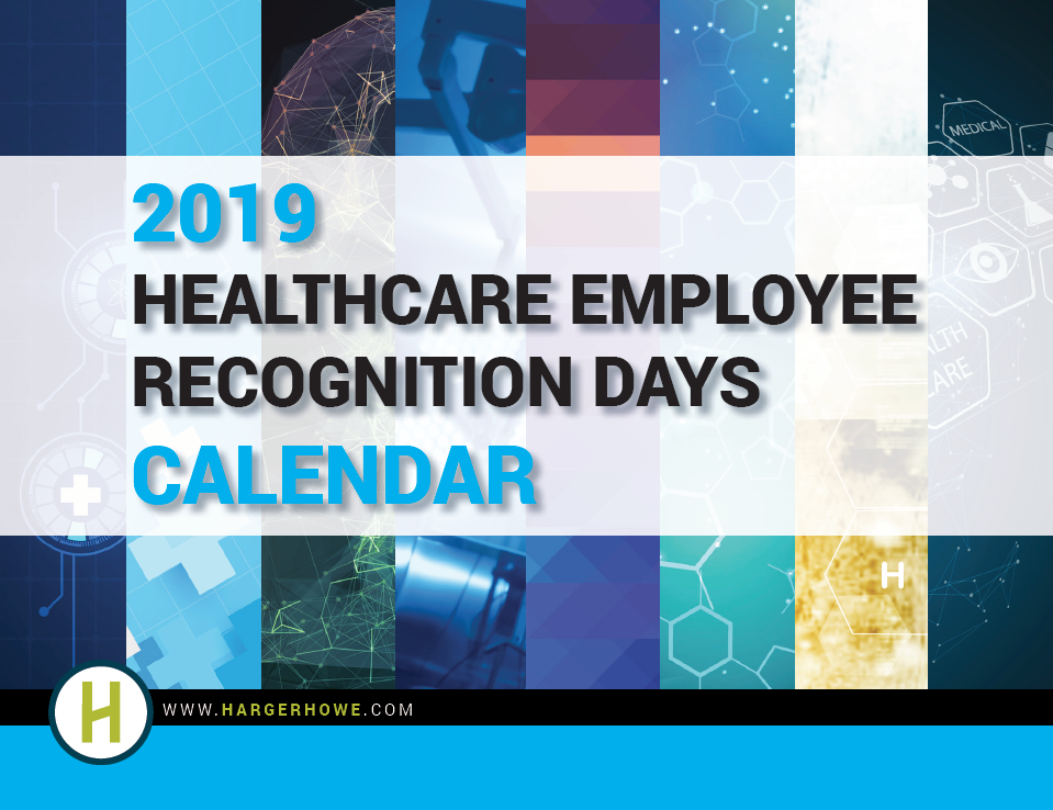 2019 Healthcare Employee Recognition Days Calendar