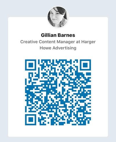 LinkedIn QR Code Gillian Barnes