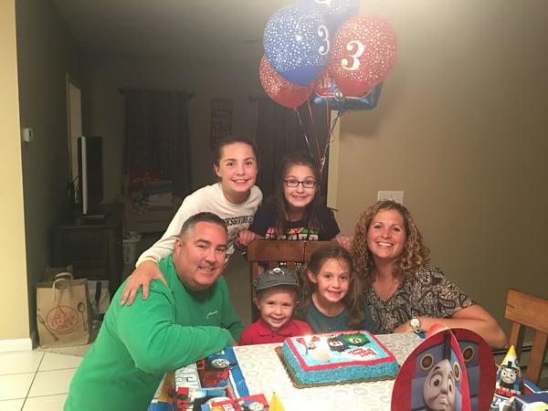 joe turns three!