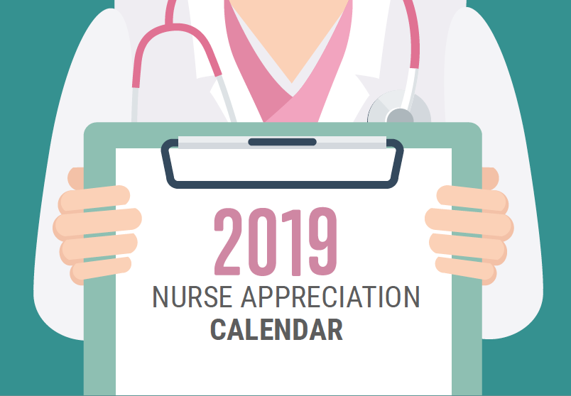 2019 Nurse Appreciation Calendar