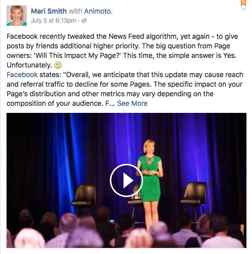 Mari Smith Facebook Tips
