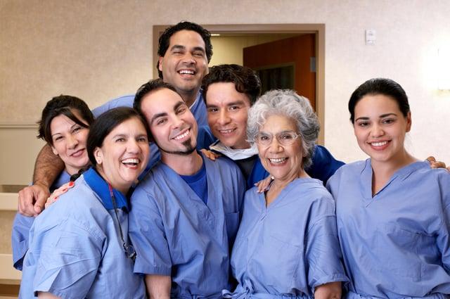 Nurses come in every age