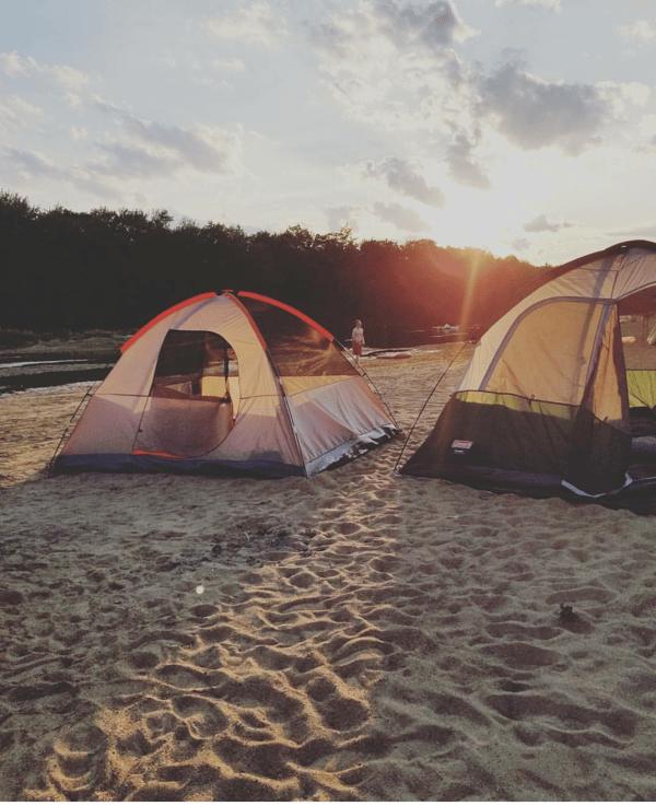 camping Fryeburg Maine Saco River