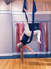 silk class yoga studio